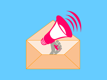 simbolo email marketing come una delle tattiche di marketing