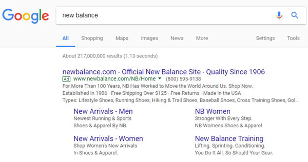 branded searches in adwords